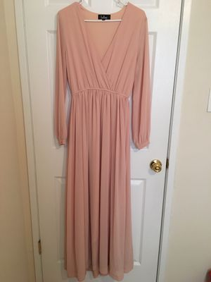 Lulus Blush Pink Maxi Dress Size M for Sale in Sudley Springs, VA