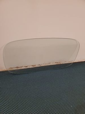 """LARGE, HEAVY, RACETRACK-SHAPED, TEMPERED-GLASS TABLETOP - 4' L x 2' W x 3/8"""" thick - firm price. for Sale in Arlington, VA"""
