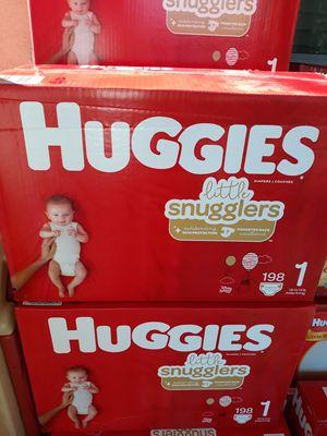 HUGGIES LITTLE SNUGGLERS SIZE 1 DE 198 PAMPER A $35 CADA UNO PRECIO FIRME for Sale in Santa Ana, CA