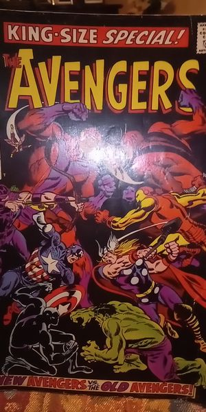 1968 kings size special The Avengers comics book for Sale in Fresno, CA