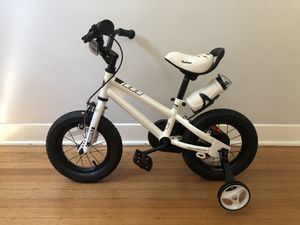 """12"""" white kids bicycle for Sale in Seattle, WA"""