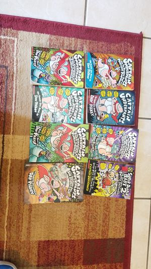 Captain underpants books for Sale in Macedonia, OH