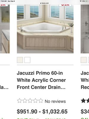 "Jacuzzi hot tub, clean, free delivery, 60"" x 60"". Works perfect for Sale in Glastonbury, CT"