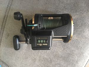Daiwa SG47LC line counter bait caster for Sale in Los Angeles, CA