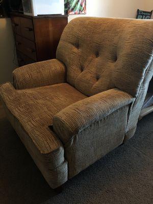 Sofa Chair & Ottoman for Sale in Menifee, CA