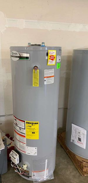 NEW AO SMITH WATER HEATER WITH WARRANTY 40 gallon UL4 for Sale in Spring, TX