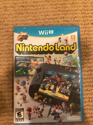 Nintendo Land Wii U for Sale in Richmond, VA