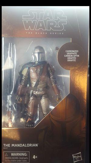 Star Wars Black Series Carbonized Mandalorian for Sale in Menifee, CA
