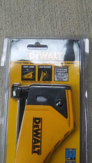 Dewalt tacker hammer for Sale in North Las Vegas, NV
