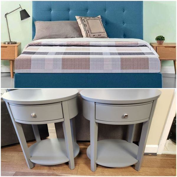 Huge Sale   All must Go   Brand New King Size Bed   Two Nightstands   One Low Price: $499