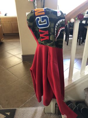 Red bape jacket for Sale in Corona, CA