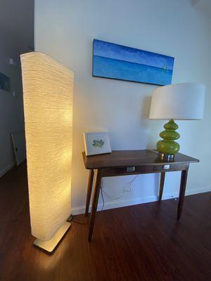 Floor lamp, beautiful lighting for Sale in Temecula, CA