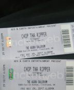 Twochip the ripper tickets with cash money turk and yffbent pistol live in concert tonight for Sale in Canton, OH