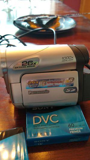 Panasonic mini DV camcorder with 26x optical zoom for Sale in Phoenix, AZ