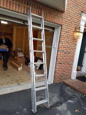16 ft aluminum ladder for Sale in Fairfax, VA