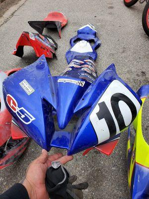 Motorcycle Race Plastics Honda Yamaha Suzuki for Sale in Huntington Beach, CA