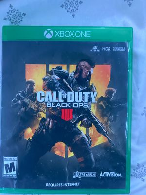 black ops 4 xbox one for Sale in Las Vegas, NV