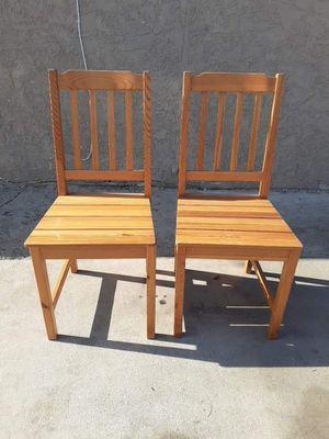 Wood chairs for Sale in San Bernardino, CA
