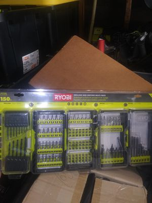 Ryobi 150 pc drilling and driving multi pack for Sale in Colton, CA