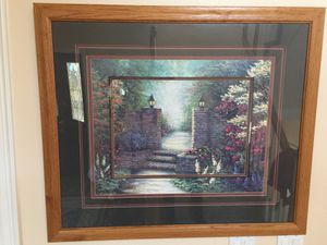 Framed Glass Covered Print for Sale in Colorado Springs, CO