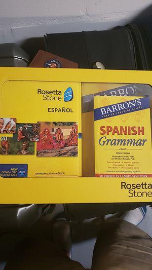 Rosetta stone learn spanish New for Sale in Bradenton, FL
