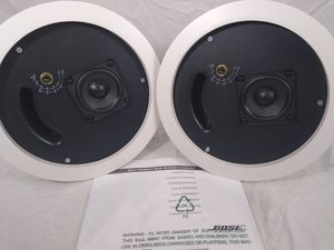 Lot of 2 Bose Model 16 FreeSpace Loudspeaker 16W Ceiling Wall 100VRMS for Sale in Cleveland, OH