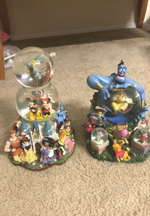 Disney globe for Sale in Norwood, MA