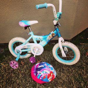 """Frozen Girls Bike 12"""" wheels for Sale in Sacramento, CA"""
