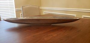 Long Silver Decorative Table Bowl for Sale in San Antonio, TX