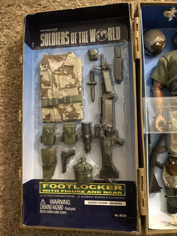 Toy collectable. Soldiers of The World. Desert Storm