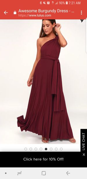Bridesmaid dress for Sale in Fort Belvoir, VA