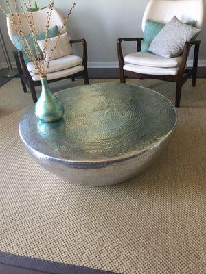 Drum Coffee Table for Sale in Niederwald, TX