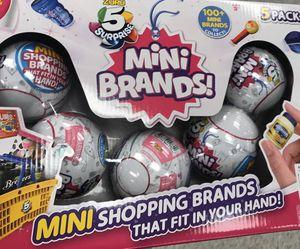 Mini brands 5 pack for Sale in Fresno, CA