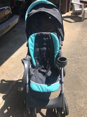 Graco teal click connect stroller for Sale in Greer, SC