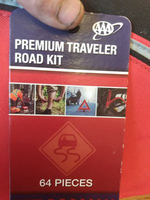 64 piece premium traveler road kit for Sale in Portland, OR