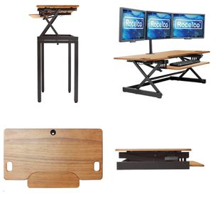 Height Adjustable Sit To Standing Desk Riser - Rocelco for Sale in West Covina, CA