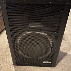 2 BLACK PEAVEY 112DL SPEAKER SYSTEM for Sale in Washington, DC