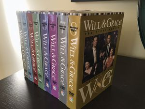 Will and Grace Season 1-8 for Sale in Woodstock, GA
