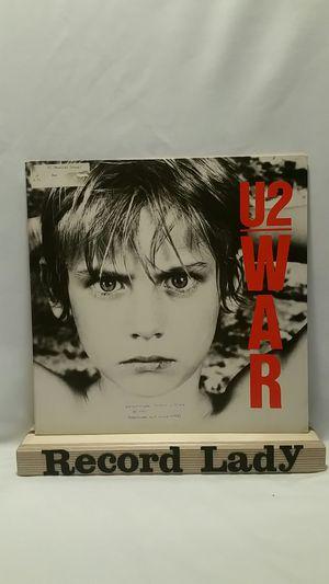 "U2 ""War"" vinyl record Rock for Sale in San Diego, CA"