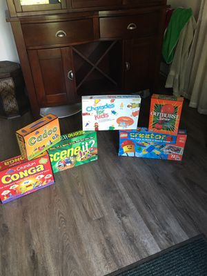 Board games for bored kids for Sale in Graham, WA