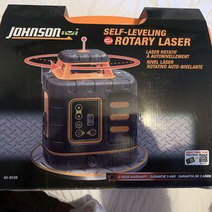 """Johnson Self Leveling """"Rotary Laser"""" Full Set for Sale in Saint Paul, MN"""