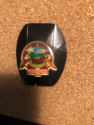 Chip and dale Disney Switzerland pin for Sale in Long Beach, CA