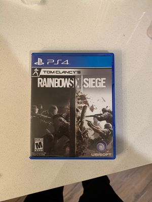 Rainbow Six Seige - PS4 for Sale in Rochester, MN