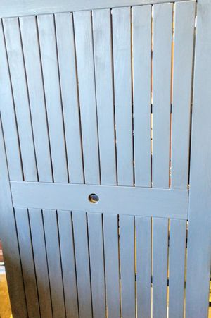 """Gray Slatted Patio Table 36"""" x 72"""" x 36""""H for Sale in Westminster, CO"""