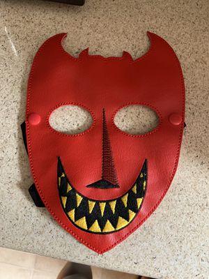 Halloween Costume Lock Mask Nightmare Before Christmas for Sale in East Los Angeles, CA