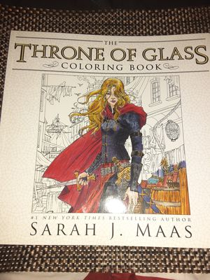 Throne of glass coloring book for Sale in Sylvester, WV