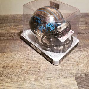 SIGNED Mini Chrome Helmet by Luke Kuechly for Sale in Kempton, PA