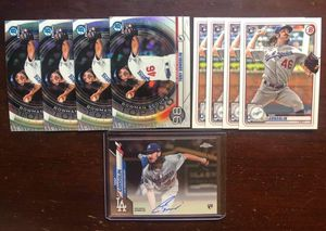 tony gonsolin rookie lot with auto for Sale in Baldwin Park, CA