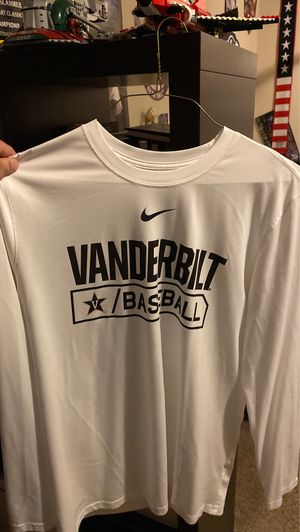 Nike Dri-Fit Vanderbilt Baseball Long Sleeve Tee for Sale in Puyallup, WA