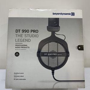 Beyerdynamic DT 990 Pro 250 ohm Open-back Studio Headphones for Sale in Lawndale, CA